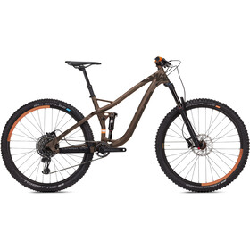 "NS Bikes Snabb 150 Plus 2 MTB Full Suspension 29"" brown"